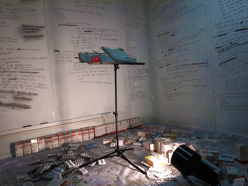 Homework, residency, gaff space, e17, graft, lancs,joseph cotgrave Installation, artist, Paul Coombs, royal college of art, rca, show 2018